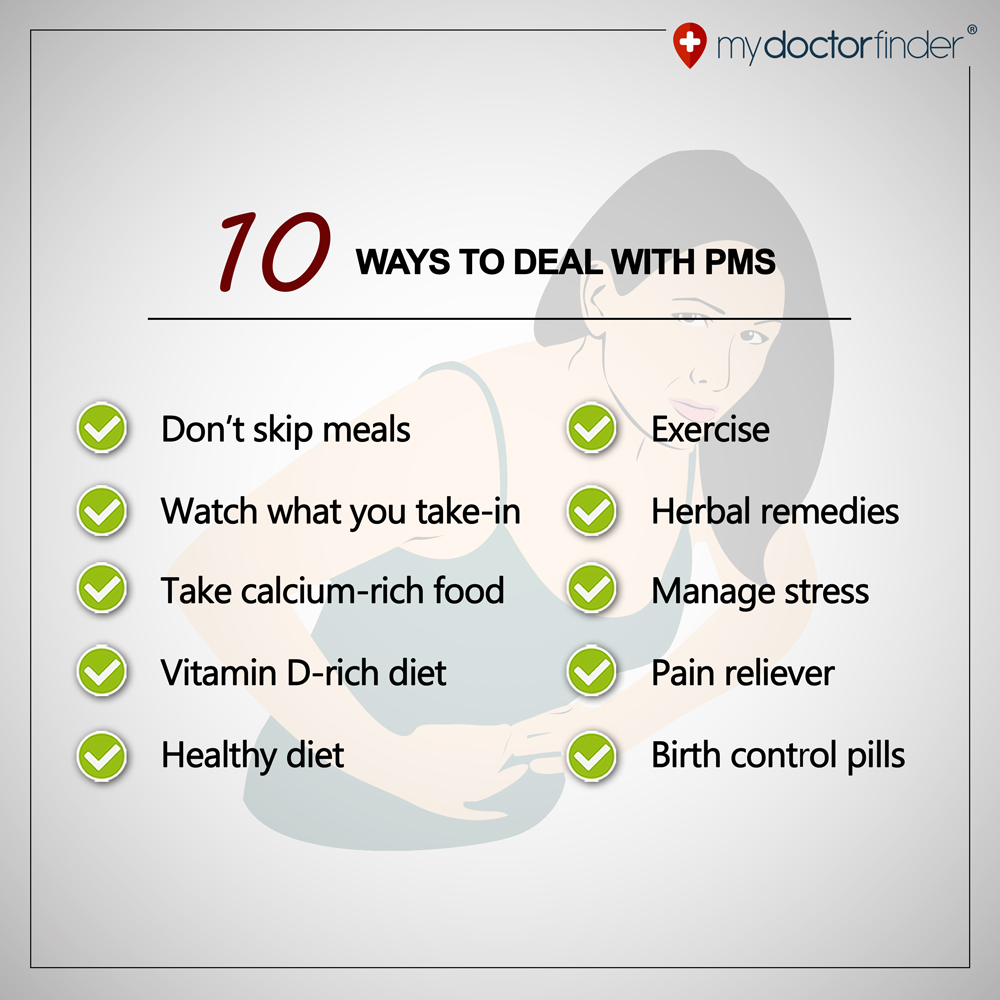 10 Healthy Ways to Manage PMS