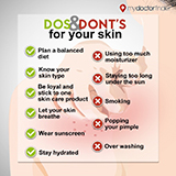Do's and Donts Skin Care