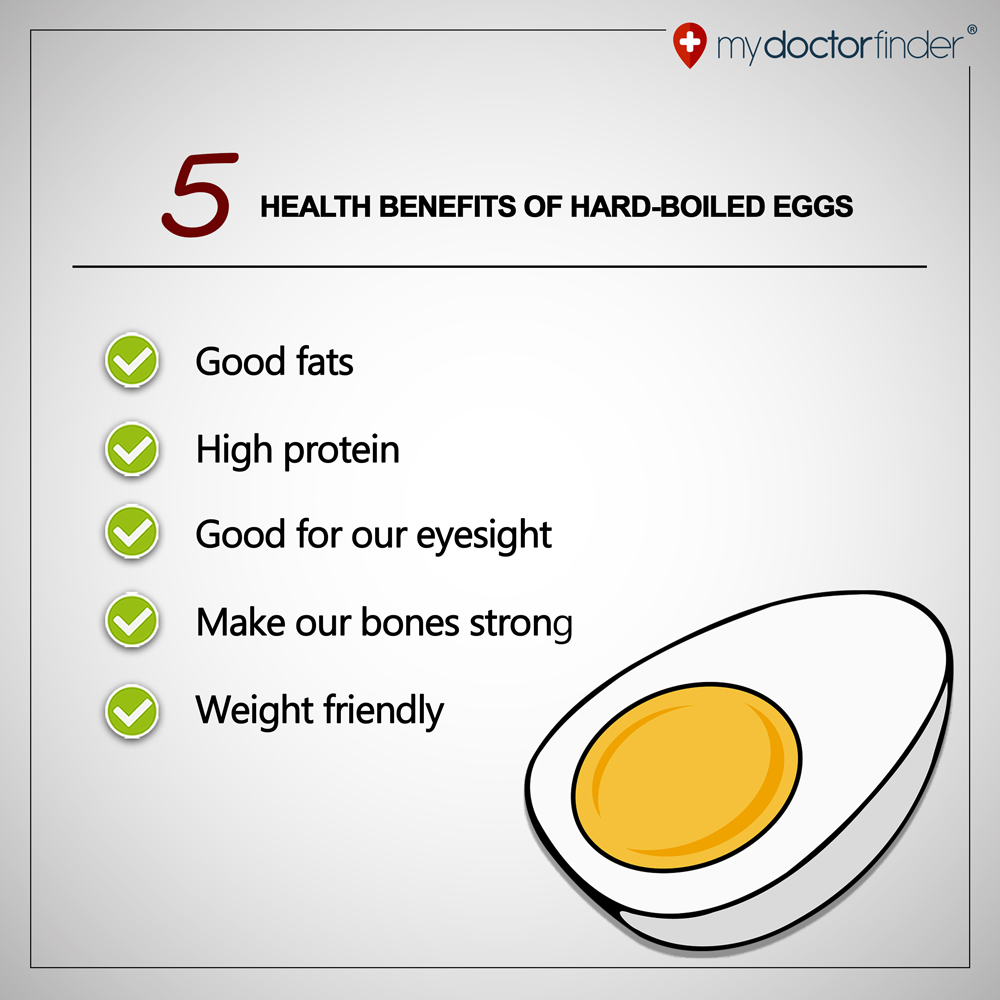 Benefits of Hardboiled eggs