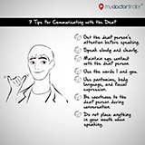 Deaf Communication Tips