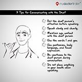 Deaf Communication Tips